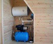 Монтаж системы водоснабжения,  канализации и климатического оборудовани